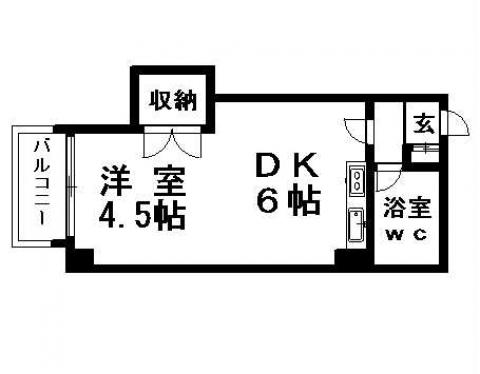 サンホームマンションNO3の間取写真