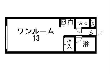 スモット清田Ⅰの間取写真