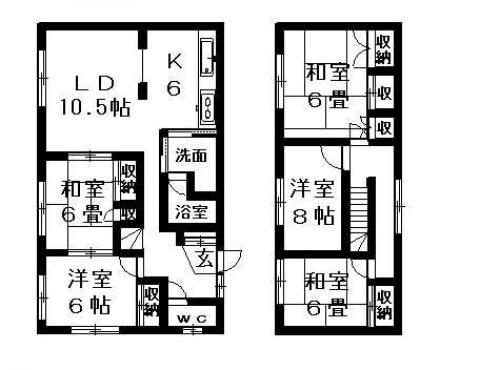 真栄5-3戸建(13-3)の間取写真