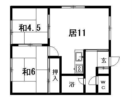 第2マンション大空の間取写真