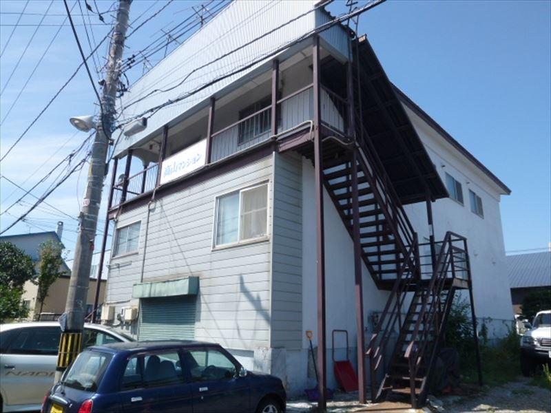 高山マンションの  外観 写真